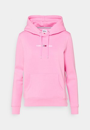 LINEAR LOGO HOODIE - Sweat à capuche - pink daisy