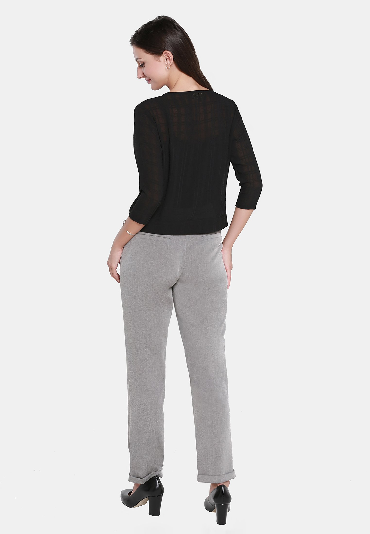 Shopping Online Women's Clothing usha Cardigan black rfaIL2w8O