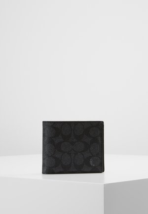 SIGNATURE COMPACT WALLET - Wallet - charcoal
