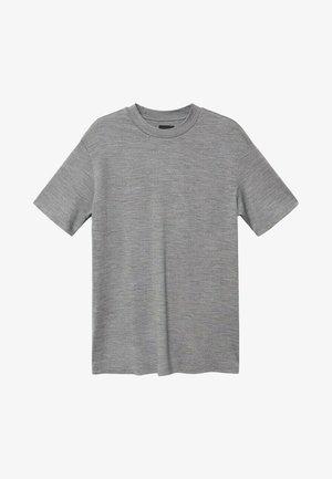 ROBERT - T-shirt basic - mediumgrijs