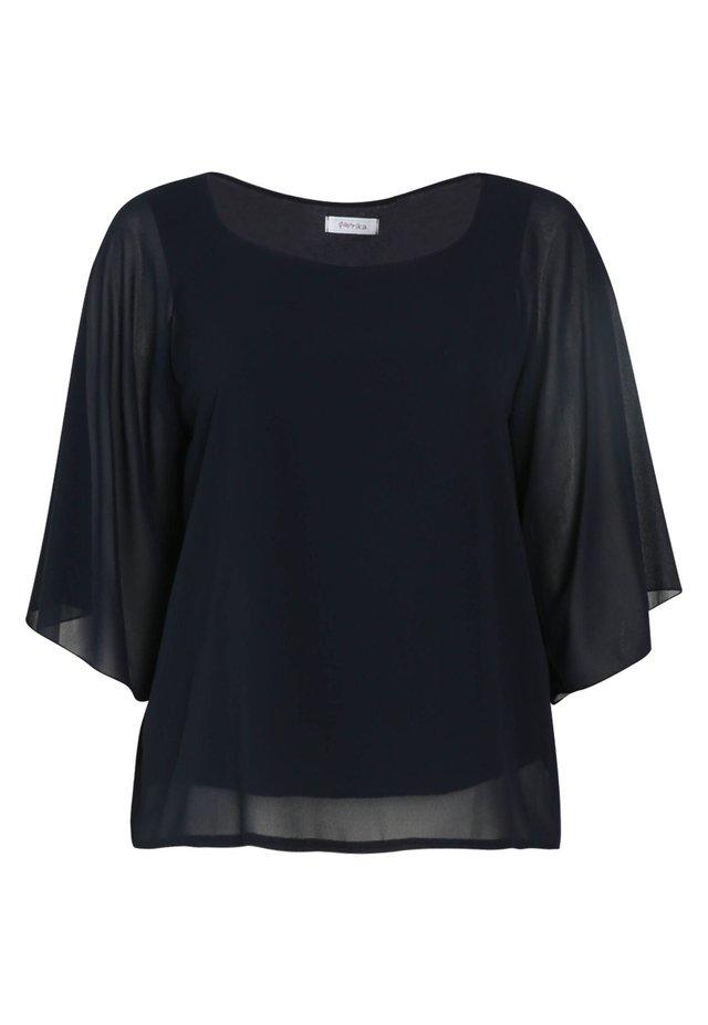 T-shirt - bas - marine