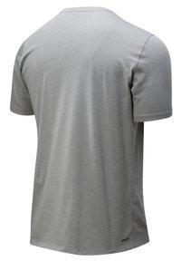 New Balance - GRAPHIC HEATHERTECH - Print T-shirt - athletic grey multi - 1