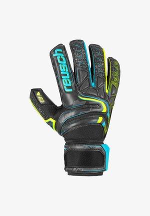ATTRAKT  - Goalkeeping gloves - schwarzgelbschwarz