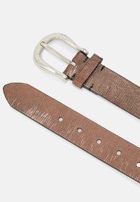 Vanzetti - Belt - taupe/copper - 1