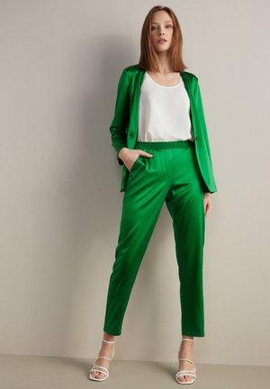 Trousers - verde prato