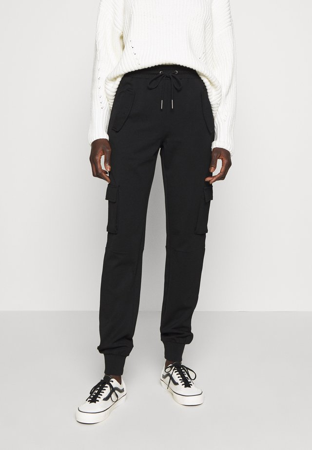 NMHIPE CARGO PANT TALL - Cargo trousers - black