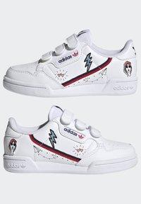 adidas Originals - CONTINENTAL 80 SHOES - Zapatillas - ftwr white/collegiate navy/scarlet - 5