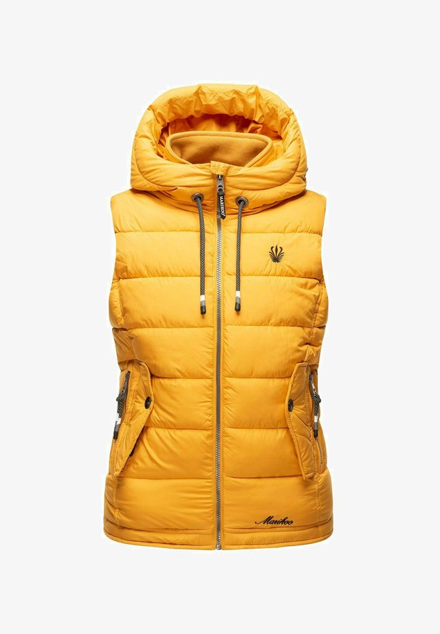 TAISAA - Bodywarmer - yellow