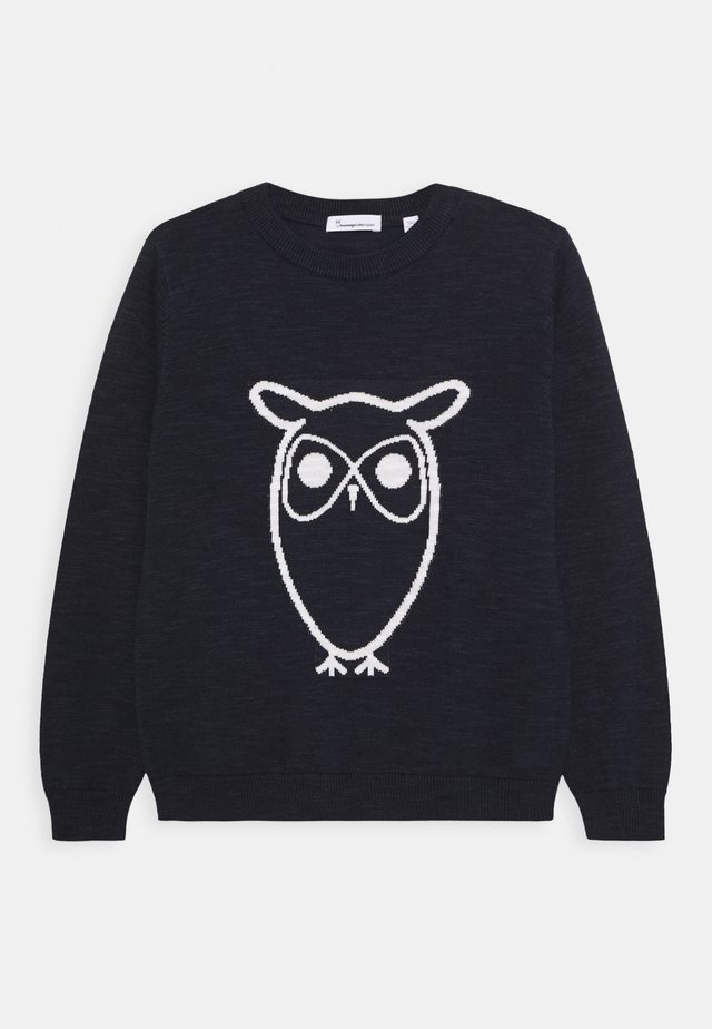 FENNEL OWL - Sweter - dark blue