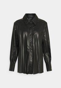 Gina Tricot - UMA  - Button-down blouse - black - 0