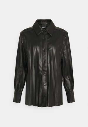 UMA  - Button-down blouse - black