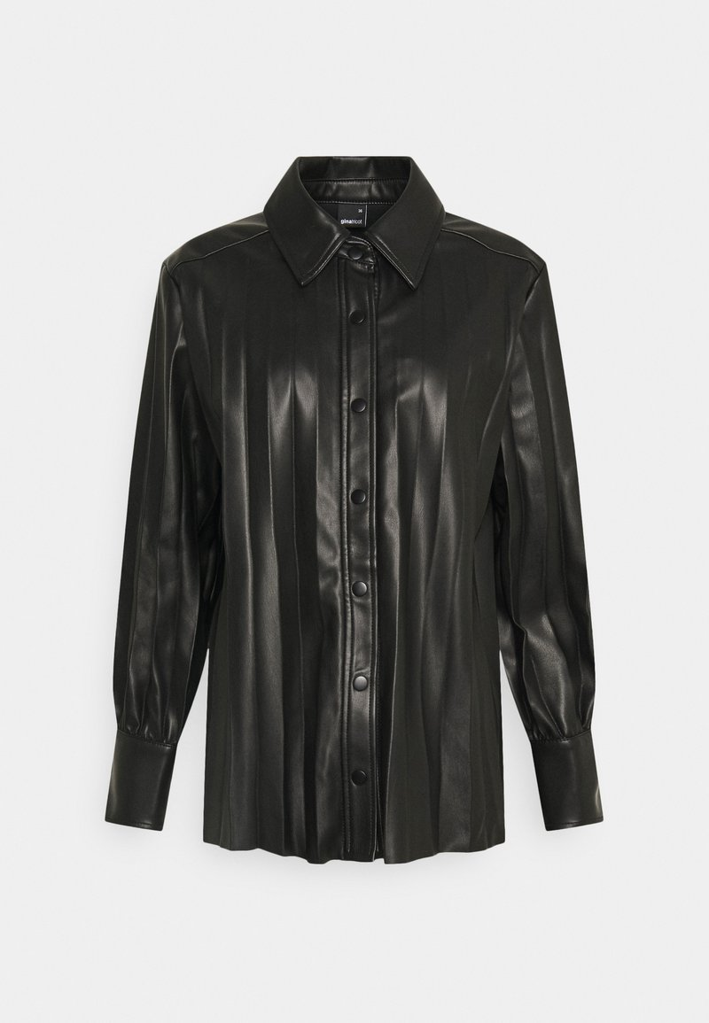 Gina Tricot - UMA  - Button-down blouse - black