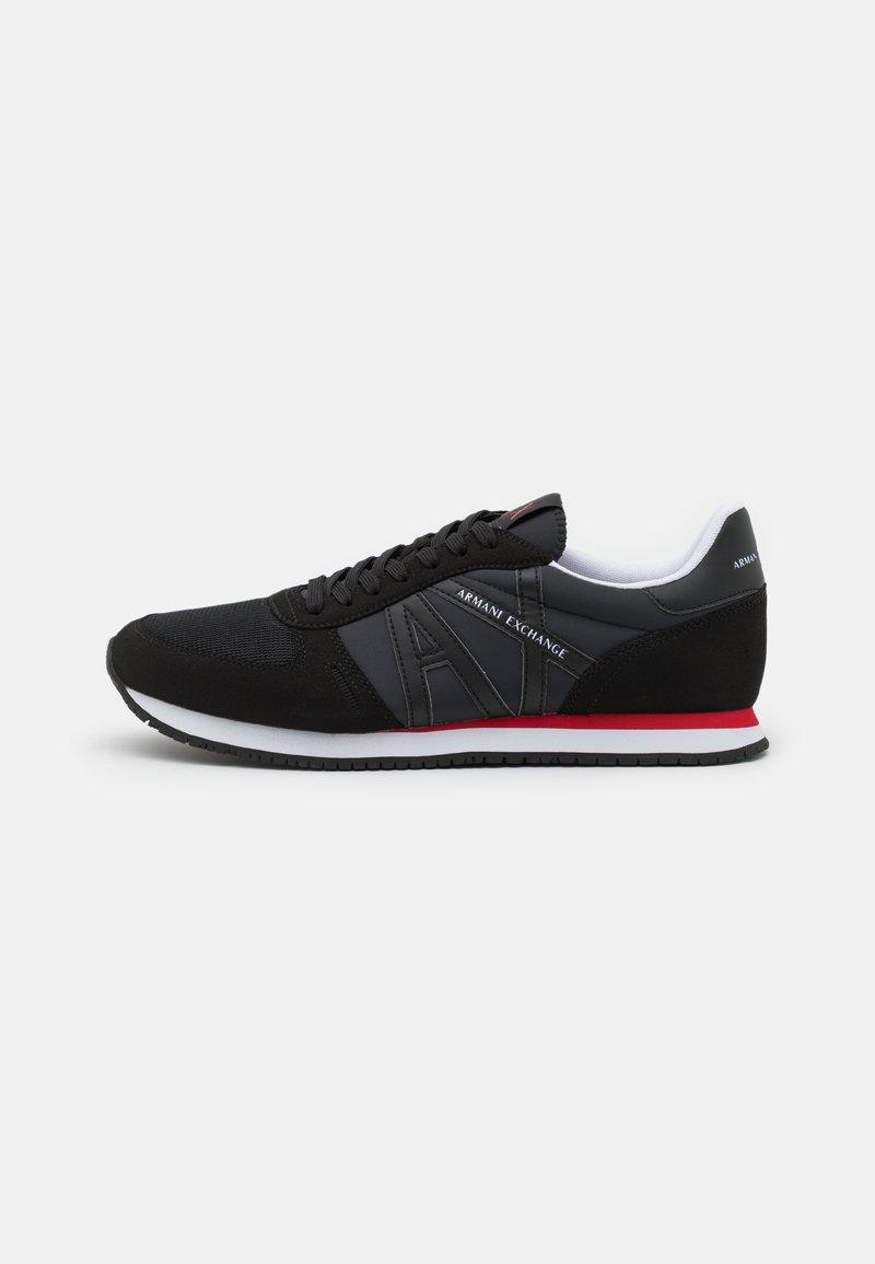 Armani Exchange - RIO  - Sneakers laag - full black