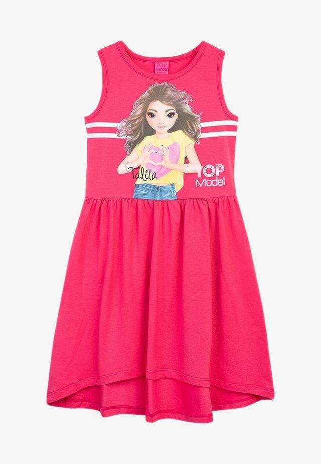 Day dress - fandango pink