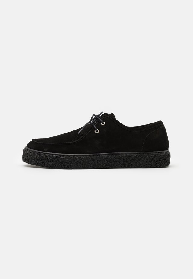 BIACHAD LOAFER - Sporty snøresko - black