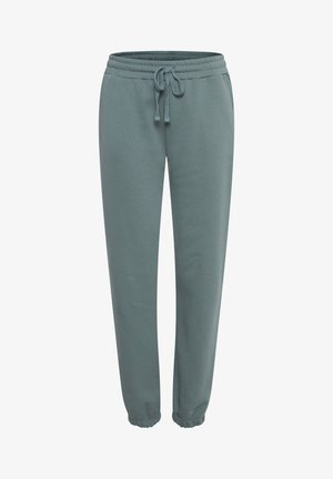 BYSAMMIA  - Tracksuit bottoms - goblin green