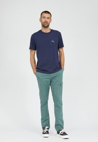 ARMEDANGELS - T-shirt basic - light pacific ink - 1
