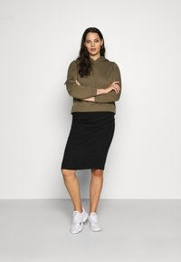 CAPSULE by Simply Be - NEW PULL ON SKIRT - Pencil skirt - black - 1