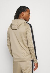 Nike Sportswear - HOODIE - Training jacket - khaki/black/white - 2