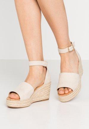 LIBERTII - High heeled sandals - bone