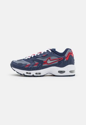 AIR MAX 96 II - Trainers - midnight navy/metallic silver/cool grey/university red/white/black