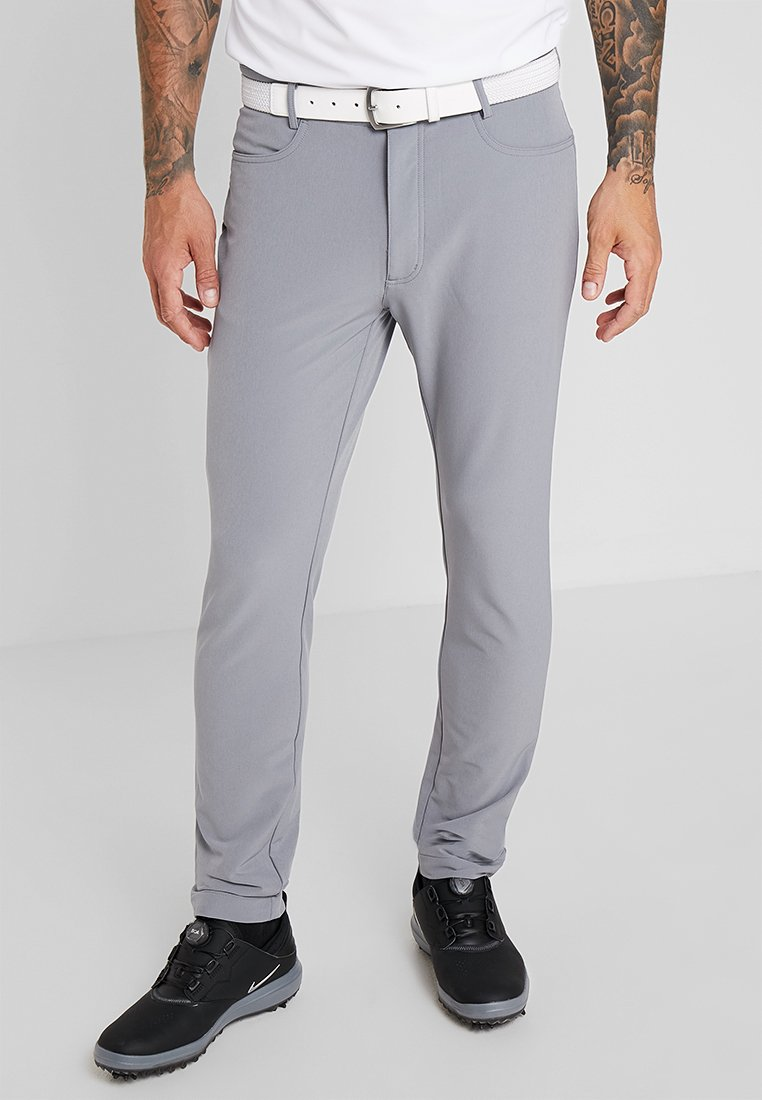 Calvin Klein Golf - GENIUS TROUSERS - Sports shorts - silver