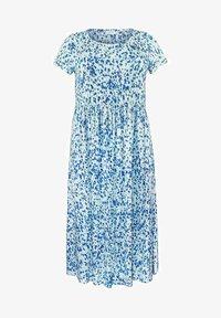 Live Unlimited London - AQUA DITSY - Day dress - turquoise - 1