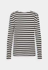 Selected Femme - SLFSTANDARD TEE  - Top sdlouhým rukávem - black/bright white - 1
