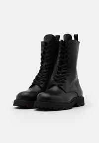 Filippa K - KRISHA LACED BOOT - Lace-up boots - black - 2