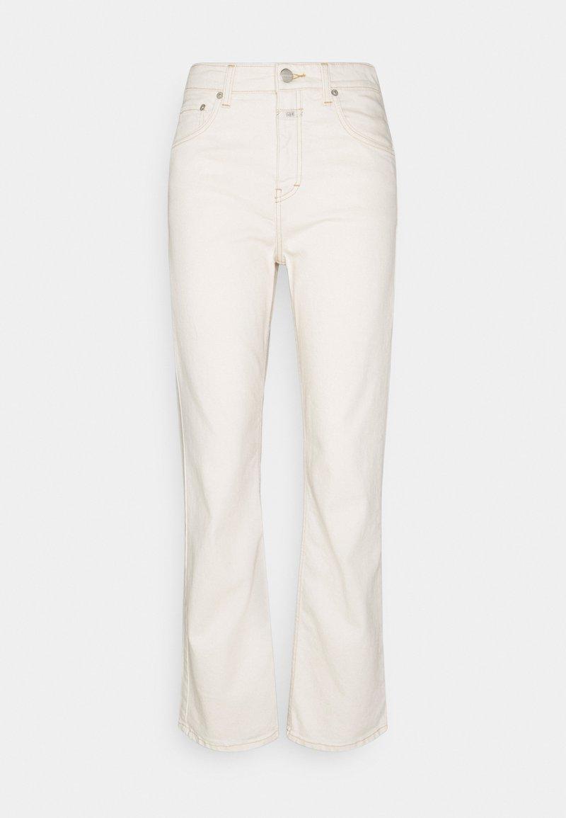 CLOSED - BAYLIN - Široké džíny - creme