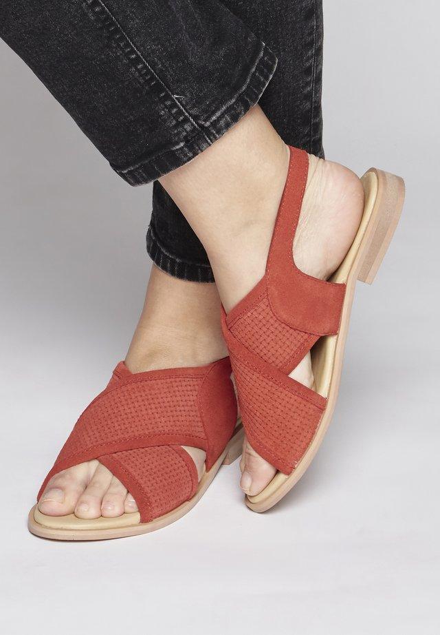 IAHUSSA  - Sandals - orange