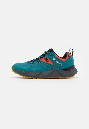 FACET 60 LOW OUTDRY - Obuwie hikingowe - river blue/red