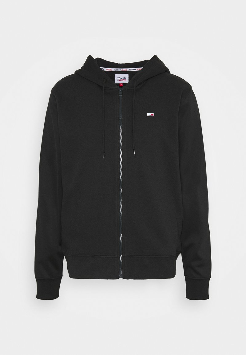 Tommy Jeans - BASKETBALL GRAPHIC  - Zip-up hoodie - black