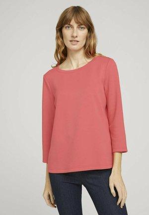 Sweatshirt - strong peach tone