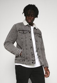Only & Sons - ONSLOUIS LIFE JACKET - Giacca di jeans - grey denim - 0