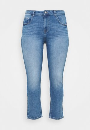 CARHYSON LIFE GIRLFRIEND - Skinny-Farkut - medium blue denim