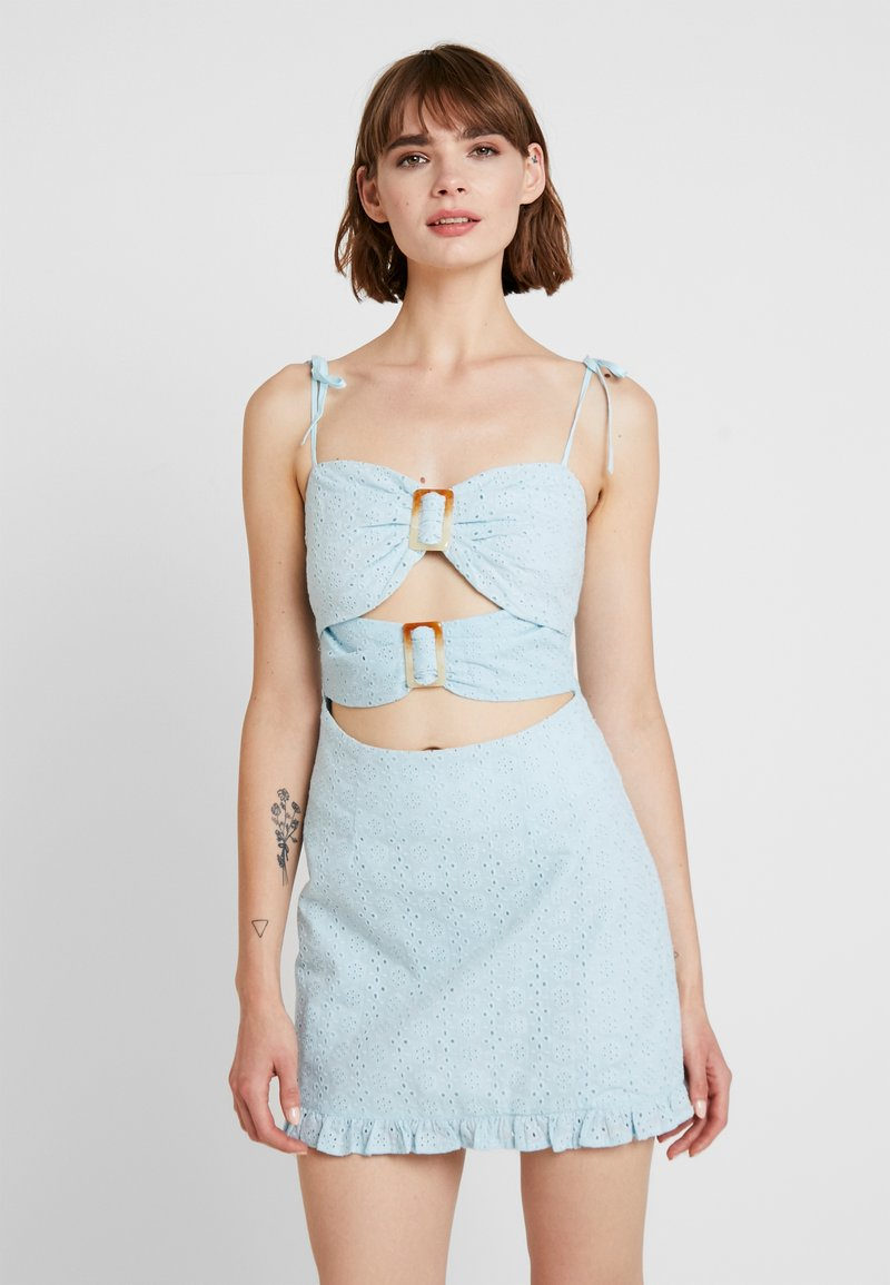 Tiger Mist - ROZA DRESS - Denní šaty - blue