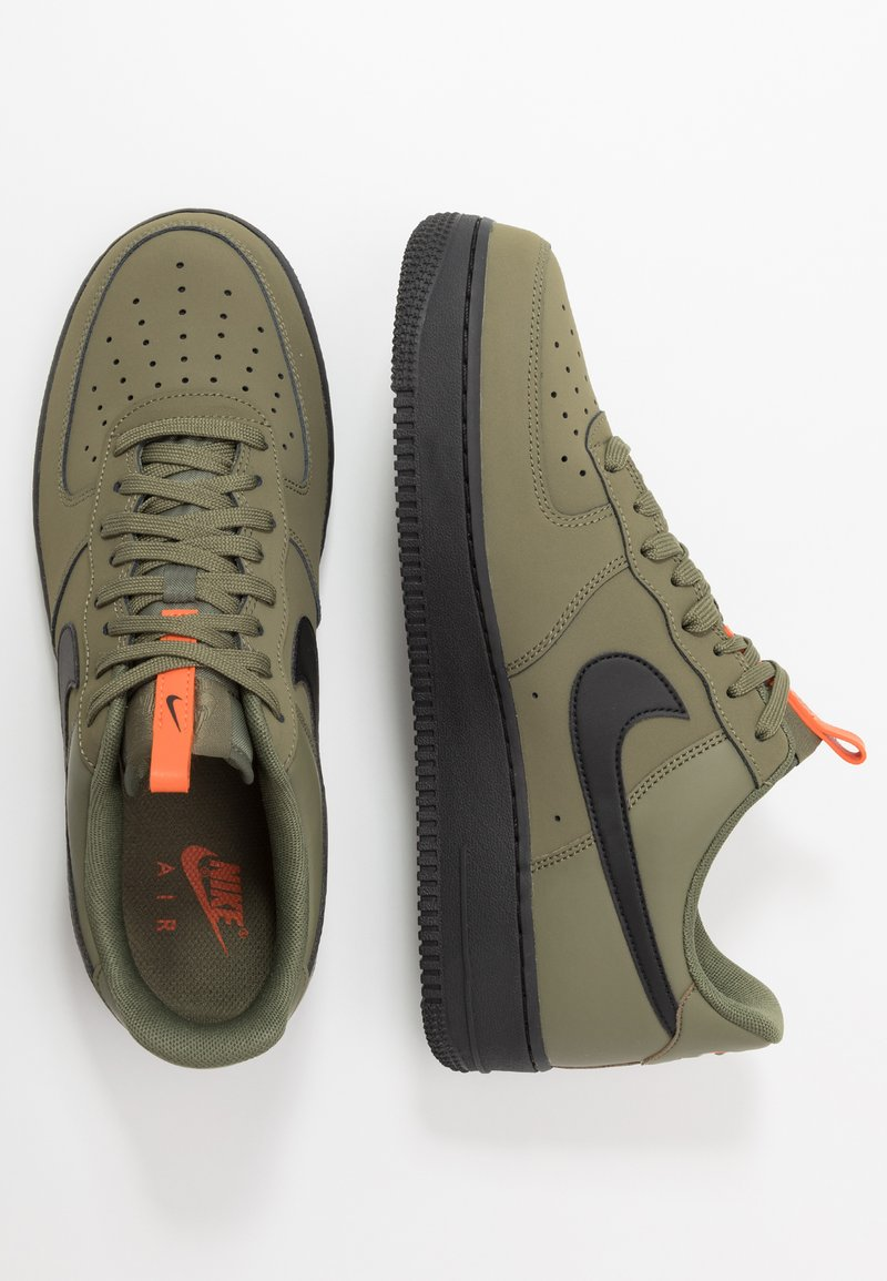 rociar apoyo pala  Nike Sportswear AIR FORCE 1 - Trainers - med olive/black/starfish/khaki -  Zalando.co.uk