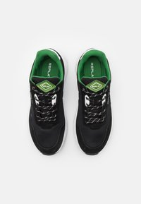 Replay - CLASSIC CHECK - Trainers - black/white/green - 3