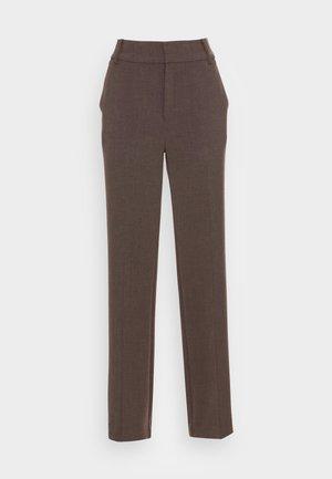 CAYLEE BOOTCUT PANT - Stoffhose - brown melange