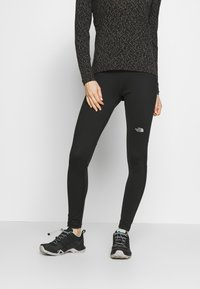 The North Face - WOMENS AMBITION MID RISE - Tights - black - 0
