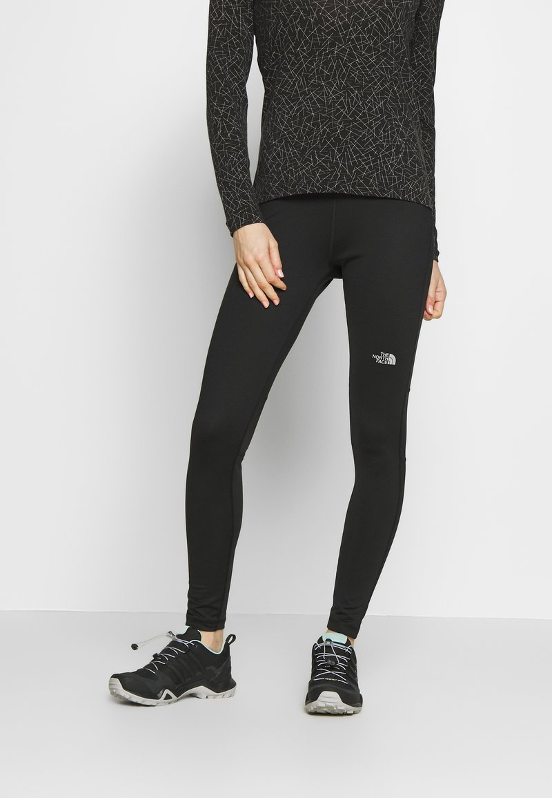 The North Face - WOMENS AMBITION MID RISE - Tights - black