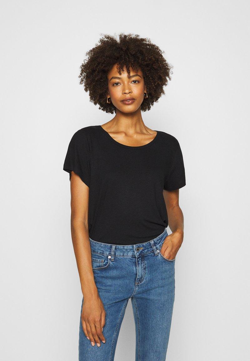 Anna Field - Basic T-shirt - black