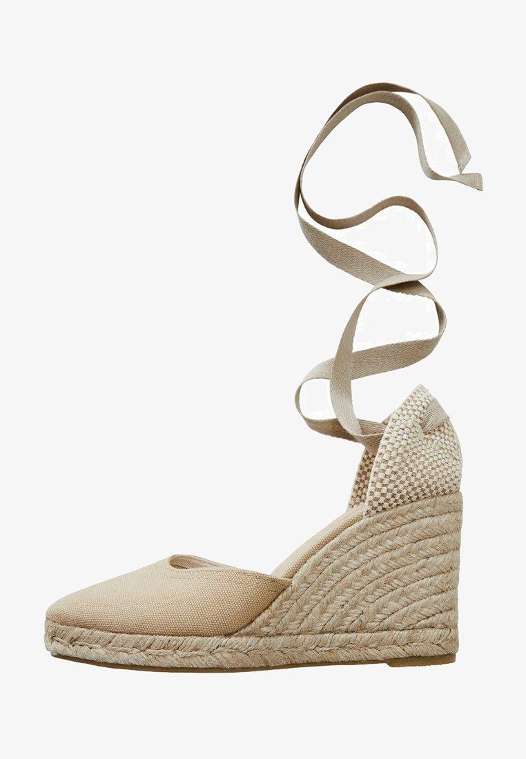 Mango - High heels - ecru