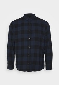 Only & Sons - B&TONSGUDMUND CHECKED - Overhemd - dress blues - 0