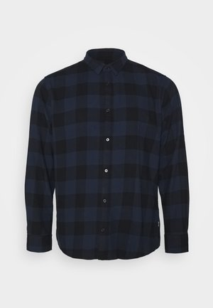 B&TONSGUDMUND CHECKED - Chemise - dress blues