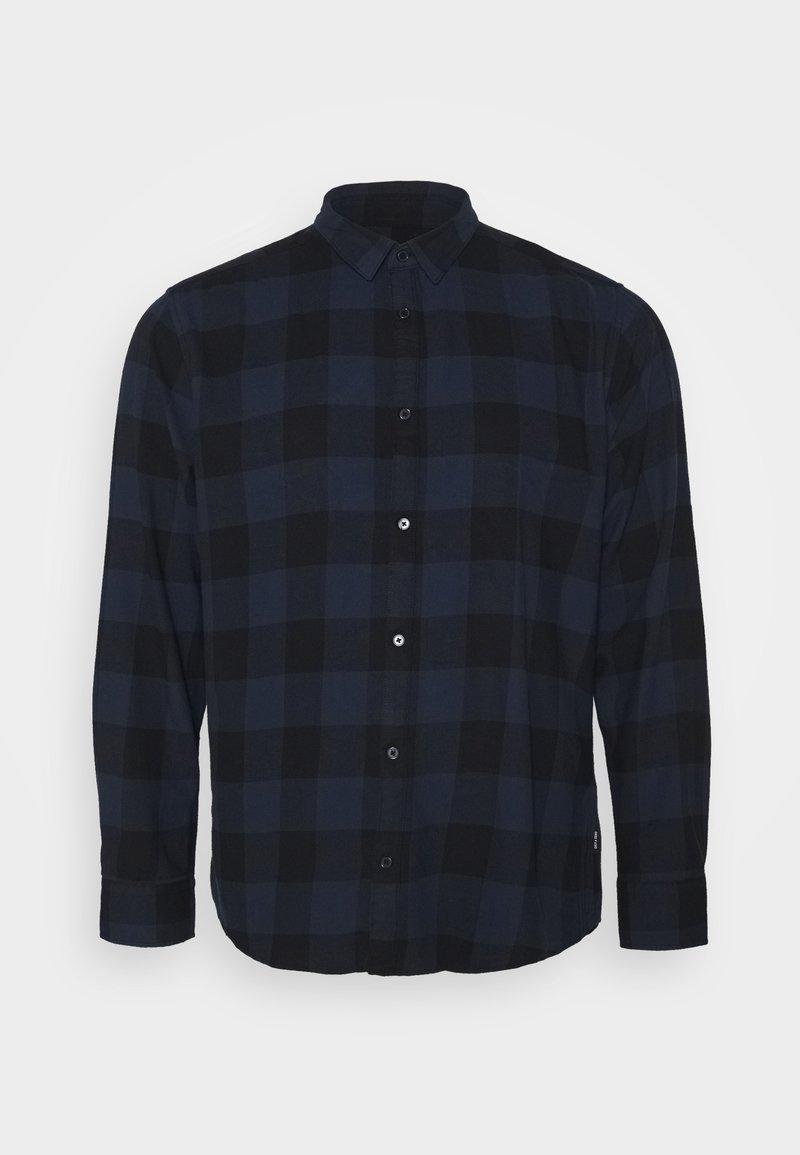 Only & Sons - B&TONSGUDMUND CHECKED - Overhemd - dress blues