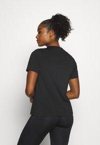 Björn Borg - CATO TEE - Sports shirt - black beauty - 2