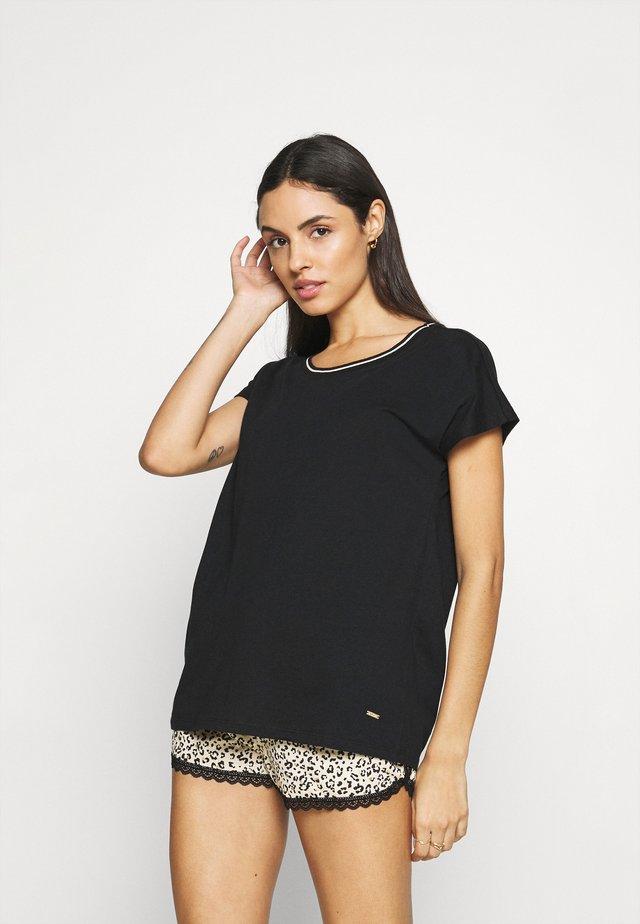 SHORTY SET - Pyjama - black