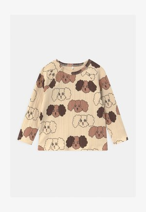 FLUFFY DOG UNISEX - Long sleeved top - beige